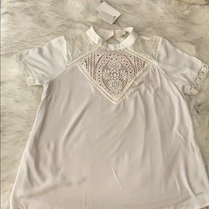 Nude Lining Lace Top